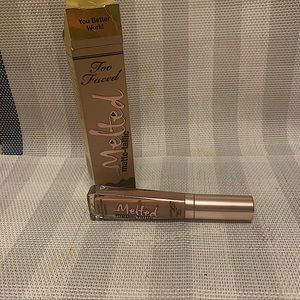 Too faced you better work melted liquid lipstick